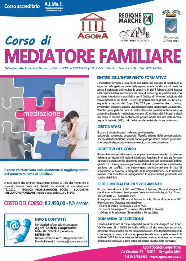 BANDO Mediatore Familiare 09.02